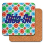 Lenticular coaster with red, blue, and green spinning wheels, animation