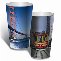 Lenticular Cup 3D Image Printing