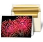Lenticular Personalized 3D Greeting Cards Image with Fireworks