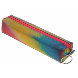 3D pencil case with red, yellow, and blue, color changing Images