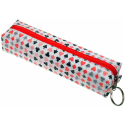 Lenticular pencil case with playing cards Prints