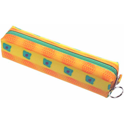 Lenticular pencil case with orange balls images