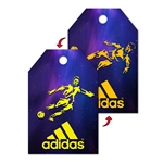 "Lenticular 3D Hang Tag Custom Design 4""x6"""