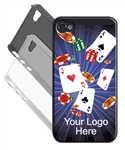 3D Lenticular iPhone Case Las Vegas Casino Cards 3d