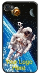 Lenticular iPhone Skin with a design of an Astronaut in Space.