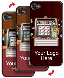 Lenticular iPhone Skin Las Vegas Casino Slot Machine