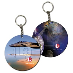 Lenticular foam key chain with custom design Print