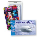 Lenticular luggage tag with custom design Images