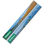 3D Lenticular magnet strip with Grand Teton National Park in Wyoming, mountains, lake, snow, and hills, flip