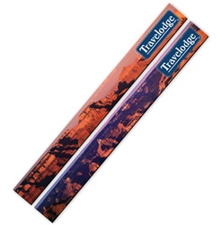 3D Lenticular Magnetic Strip Grand Canyon National Park in Arizona, great vacation of deep wide red rock carved by a river, flip