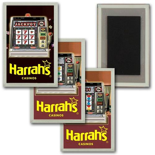 3D Lenticular Magnet Acrylic Frame Las Vegas Casino