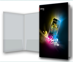 3D Presentation Folder Lenticular Printing 9 x 12 inches