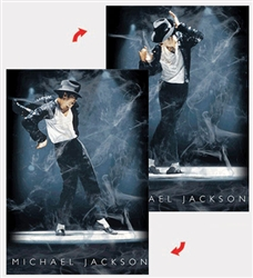 3D Printer Lenticular  Poster Michael Jackson by Lantor Ltd