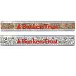 "Lenticular Acrylic 12"" MI ruler with United States of America USA money, currency, dollars and coins, flip"