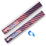Lenticular Ruler with American flag design