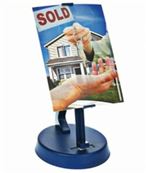 Lenticular Print Display Stand, made for holding and displaying our products, battery operated
