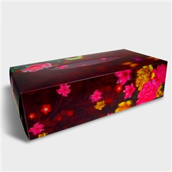 Lenticular 3D Tissue Boxes Packaging Design 10 x 5 x 3 inches