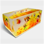 3D Tissue Boxes Lenticular Retail Packaging Design