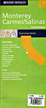 Monterey, Carmel and Salinas, California by Rand McNally [no longer available]