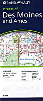 Des Moines and Ames, Iowa by Rand McNally [no longer available]