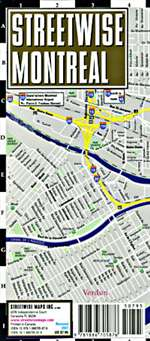 StreetWise Montreal, Canada by Streetwise Maps, Inc [no longer available]