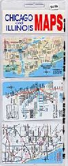 Chicago and Illinois, plastic wallet card set by Anton Miles