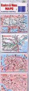 Boston and Massachusetts, plastic wallet card set by Anton Miles