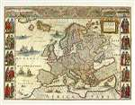 Blaeu's Europe, 1620 by Wychwood Editions (P. Whitfield)