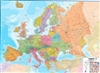 Europe,  Political, laminated by Maps International Ltd.
