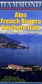 Alps, French Riviera and Northern Italy by Hammond World Atlas Corporation