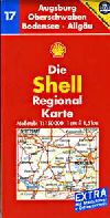 Augsburg, Oberschwaben, Bodensee and Allgau, Germany by Shell