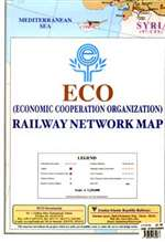 ECO Railway Network Map by Gitashenasi
