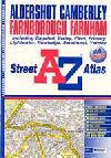 Aldershot, Camberley, Farnborough and Farnham, United Kingdom, Atlas by Geographers' A-Z Map Company