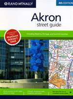 Akron, Ohio Street Guide by Rand McNally [no longer available]
