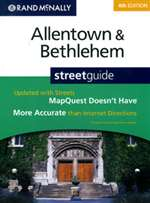 Allentown and Bethlehem, Pennsylvania Street Guide by Rand McNally [no longer available]