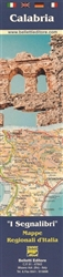 Calabria, Italy, Bookmark Map by Belletti Editore