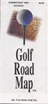 Connecticut and Rhode Island, Golf Road Map by Fore Better Golf, Inc.