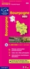 Burgundy, France, Regional Map by Institut Geographique National