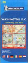Washington, DC (10) by Michelin Maps and Guides [no longer available]