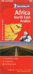 Africa, Northeast & Arabia (745) by Michelin Maps and Guides