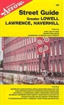 Lawrence, Haverhill and Greater Lowell, Massachusetts by Arrow Map, Inc.