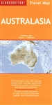 Australasia, Travel Map by New Holland Publishers