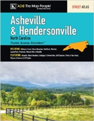 Asheville and Hendersonville, North Carolina, Atlas by Kappa Map Group [no longer available]