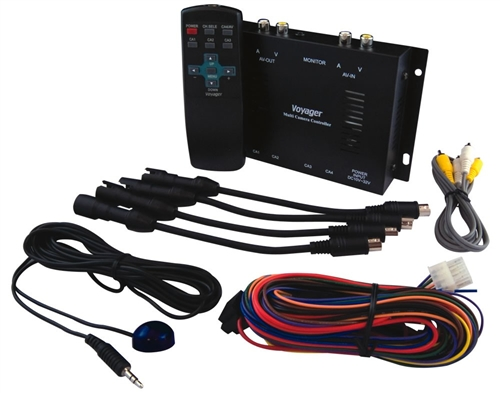 Multi Camera Controller & Quad Switcher - CSW5007Q