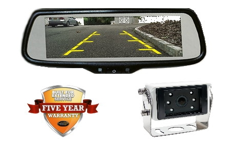 "RVS74MMK 7.3"" WIDE-SCREEN MIRROR MONITOR KIT"