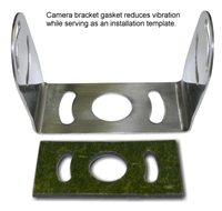 RVSB004 - STAINLESS STEEL CAMERA BRACKET WITH RUBBER GASKET