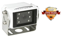 RVSCC77130 - HIGH RESOLUTION COLOR CAMERA FOR REAR VIEW BACK UP (WHITE HOUSING)