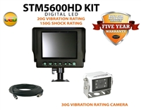 "ULTRA HEAVY DUTY 5.6"" REAR VIEW BACK UP CAMERA KIT STM5600HDK"