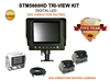 "ULTRA HEAVY DUTY 5.6"" TRI-VIEW REAR VIEW CAMERA BACK UP KIT STM5600HDTVK"
