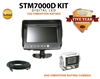 "COMMERCIAL DUTY 7"" REAR VIEW BACK UP CAMERA KIT"